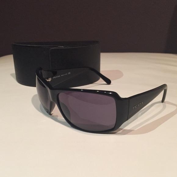 Authentic Prada Sunglasses - Black